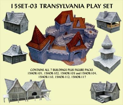 15SET-03 Transylvania Play Set