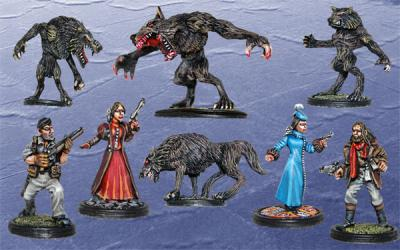 Box 1  I Had Such a Howling Good Time - A Werewolf Scenario